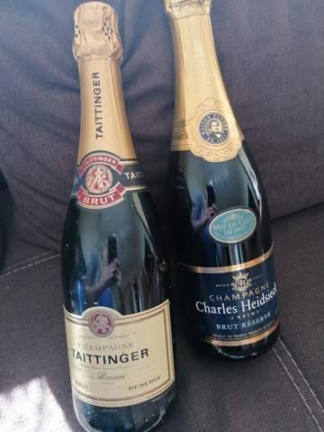 Wie viel sind diese 2 Flaschen Champagner wert?