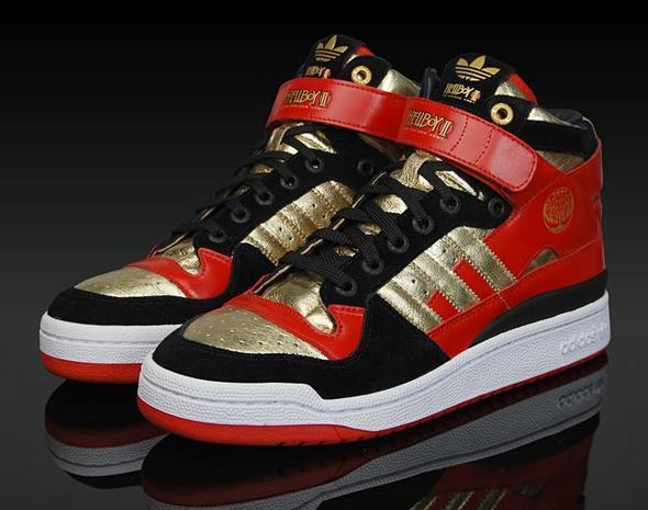 Adidas Forum Mid-Golden Army - (Schuhe, sammeln)