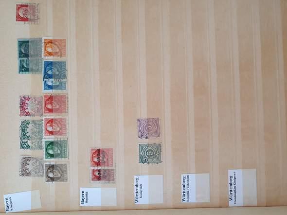 Wie viel sind diese sehr alten Briefmarken wert?