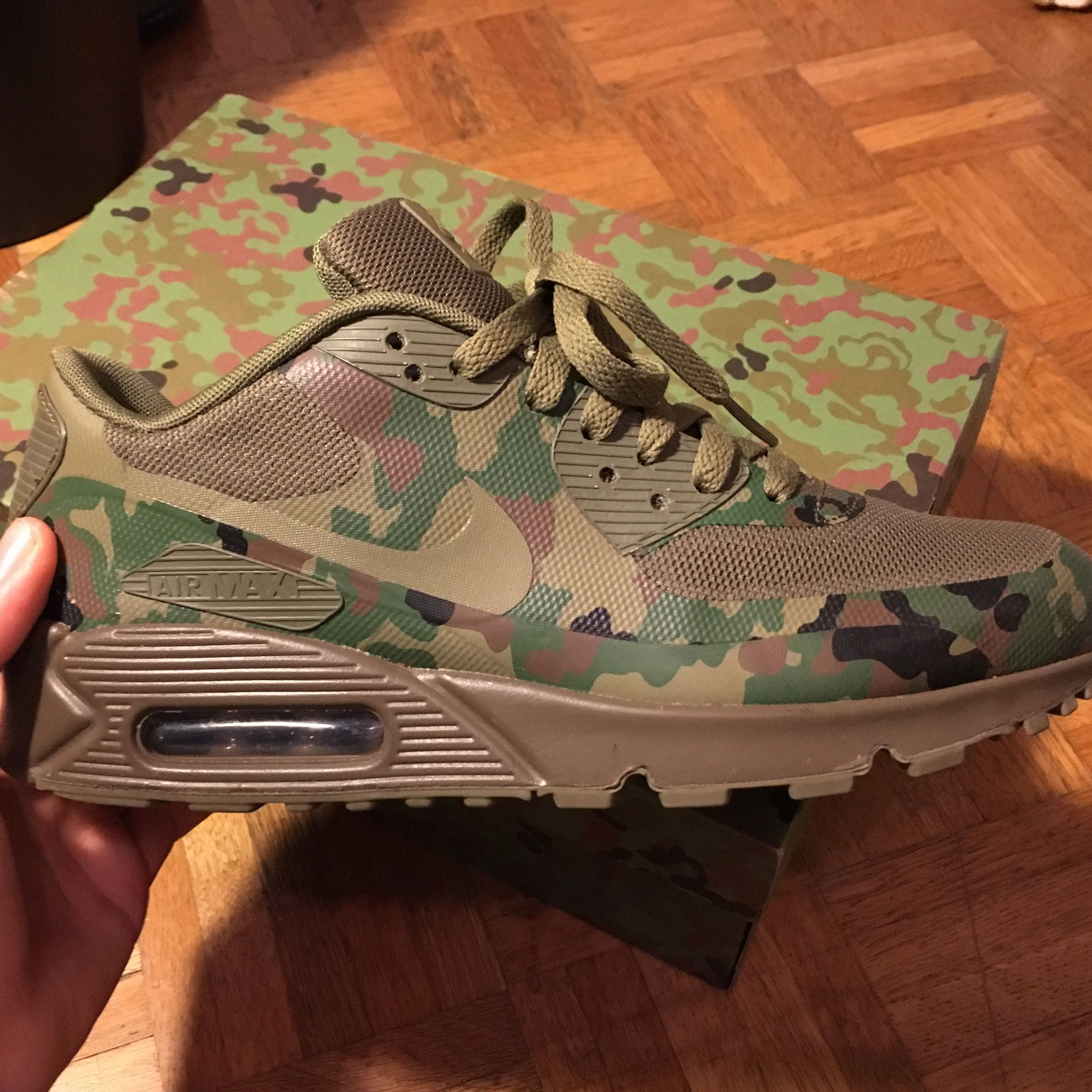 wie viel sind meine schuhe noch wert air max 90 japan sp camo nike sneaker hyperfuse. Black Bedroom Furniture Sets. Home Design Ideas