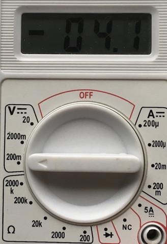 Foto von den Messergebnis - (Technik, Physik, Elektronik)
