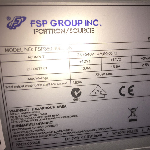 Wie viel Watt hat mein Netzteil?   - (Computer, Grafikkarte)