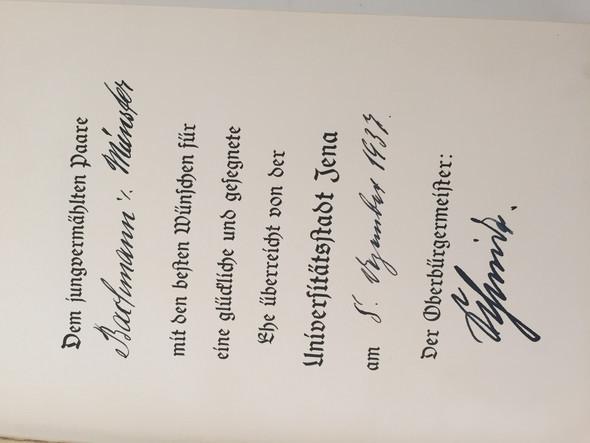 Unterschriften  - (Wert, Mein Kampf)