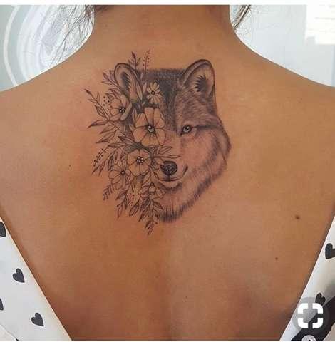 Wie viel wird dieses Tattoo ca kosten (Wolf)?