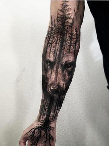 Frau kosten tattoo unterarm Tattoo Bilder