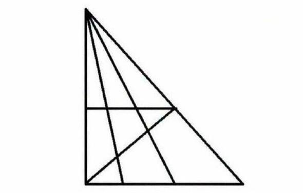 Wieviele Dreiecke sind es wohl? - (Mathe, Mathematik, Rätsel)