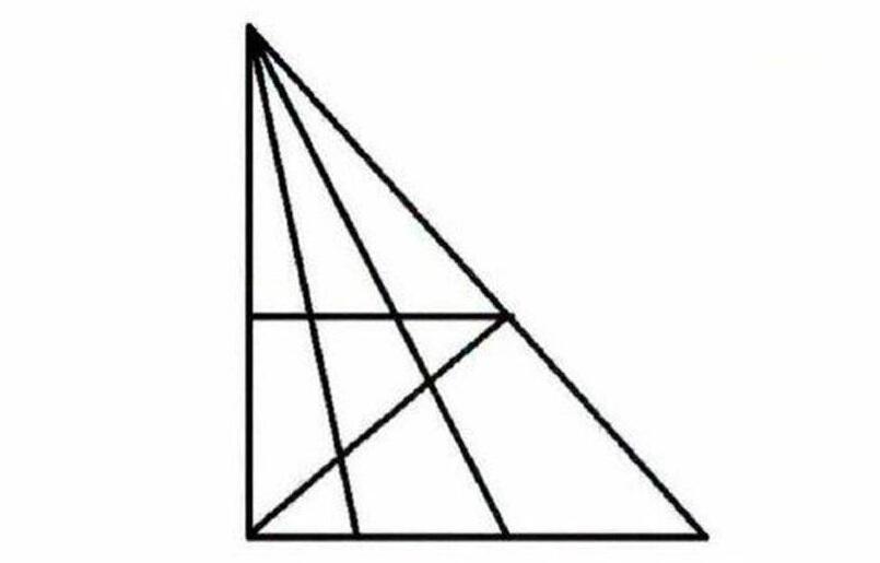 Wie viele Dreiecke könnt ihr auf dem Bild erkennen? (Mathe ...