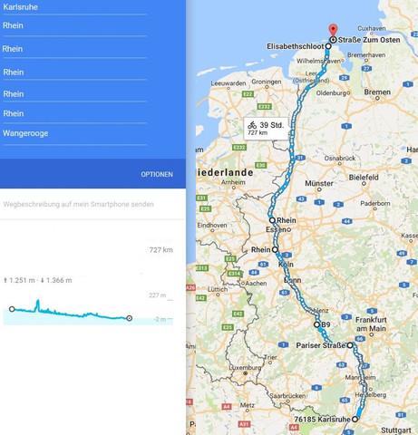 Wie viele km schaffe ich als normaler Radfahrer pro Tag bei einer ...
