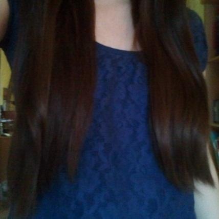 Hier könnt ihr die Haarlänge sehen - (Haare, Haarfarbe, färben)