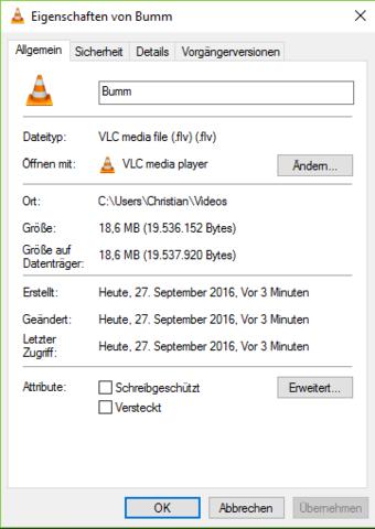 Die Datei - (Video, Videobearbeitung, MP4)