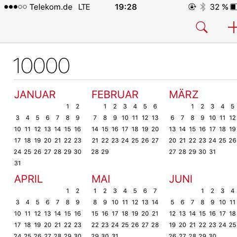 Kalender - (Technik, iPhone, Apple)