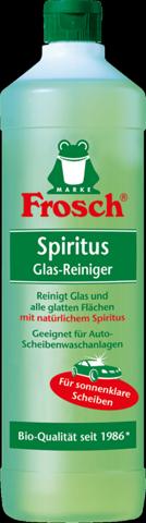 Wie weit Glasreiniger verdünnen (Frosch)?