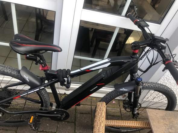 Wie weit komme ich mit diesem e-bike?