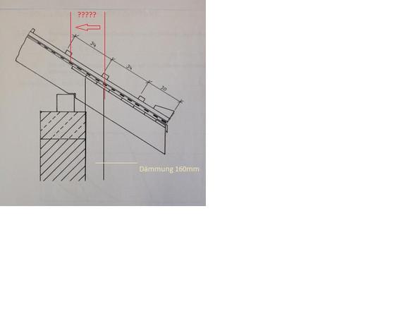 Traufenschalung - (Bau, Dach, Dachdecker)