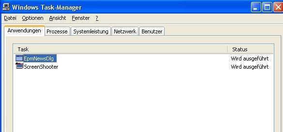 So erscheint die Datei im taskmanager - (Computer, PC, Virus)
