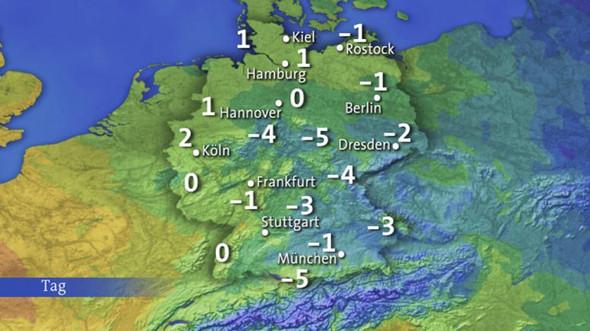 ARD Wetter - (Fernsehen, Deutschland, Karten)