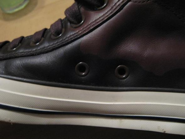 schuhe dunkel geworden - (Schuhe, Leder)