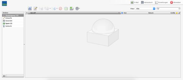 Bildschirmfoto - (Internet, E-Mail, Account)
