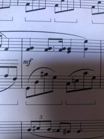Wie weren solche Noten gespielt?