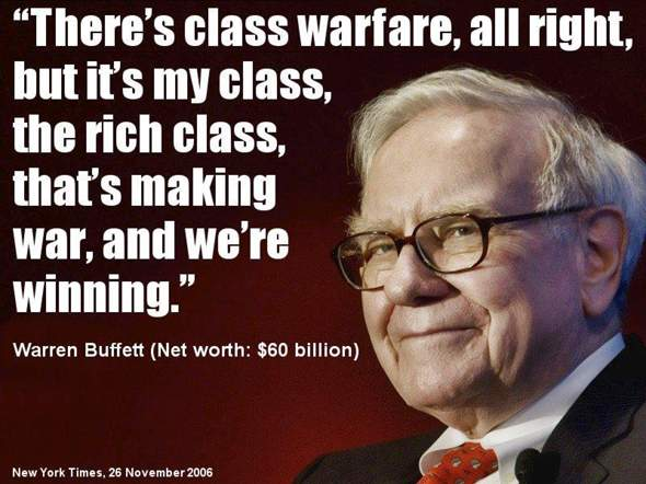 How is the class war discharged today?