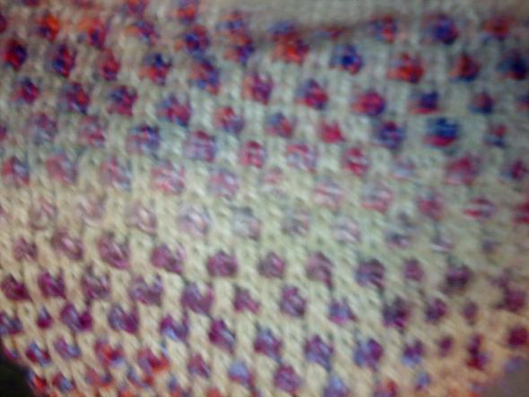 Wie wird dieses zweifarbige Muster gestrickt? (stricken, Handarbeit ...