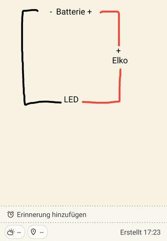 Wie wird ein Elko richtig eingebaut?