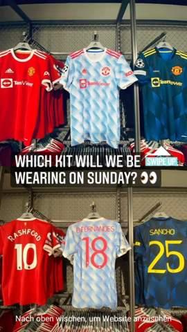 Wie wird entschieden, welches Kit beim Fußballspiel getragen wird?