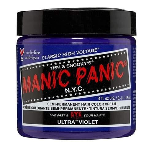 Wie wird manic panic Haarfarbe angewandt?