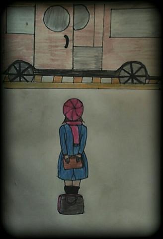 Der Zug ins Nichts - (Wirkung, Zeichnung)
