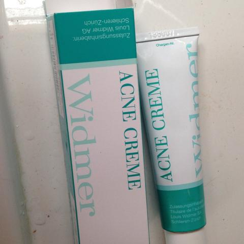 diese creme  acne widmer - (Akne, wiedmer)