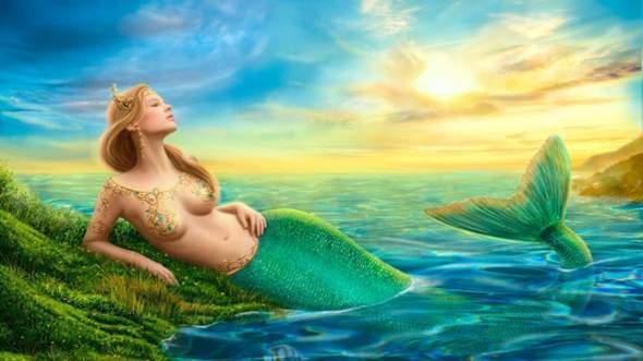 Wie würdest du reagieren, wenn es Meerjungfrauen tatsächlich geben würde?
