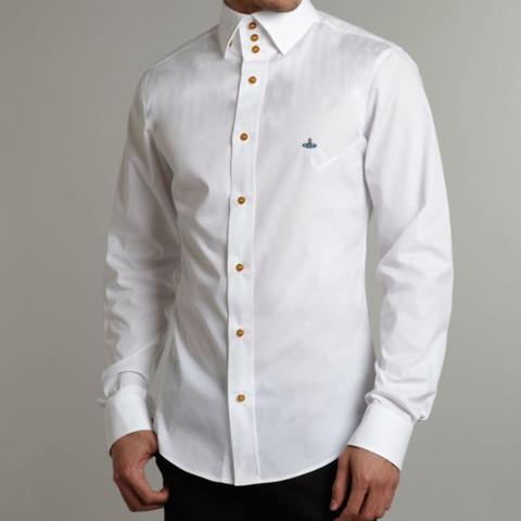 Wie würdet Ihr dieses Hemd auf einer Black and White Mottoparty tragen?