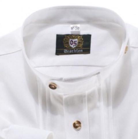 Wie würdet Ihr dieses Jahr ein Stehkragen Trachtenhemd zur Lederhose auf der Wiesn tragen?