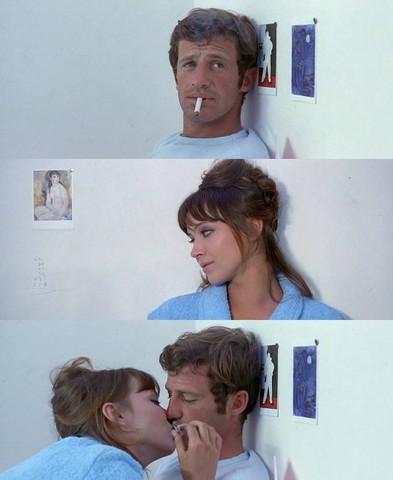 (Film mit Jean Paul Belmondo) - (Liebe, Küssen, Ausgang)