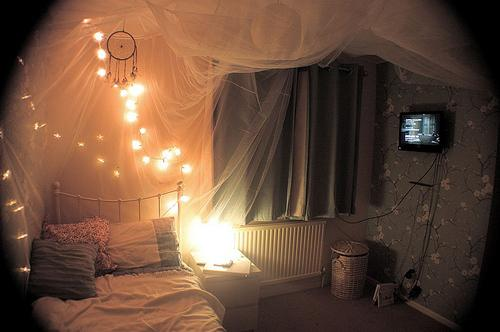 Lichterkette - (Freizeit, Zimmer, Dekoration)