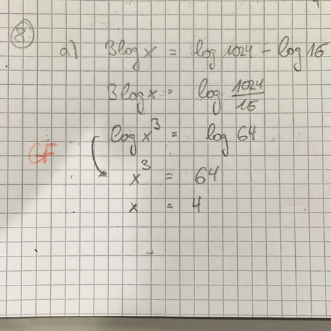 Hier mein Rechenweg :) - (Mathe, Mathematik)