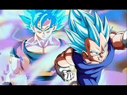 Son Goku und Vegeta blue Hair - (Anime, Gott, Kampfsport)
