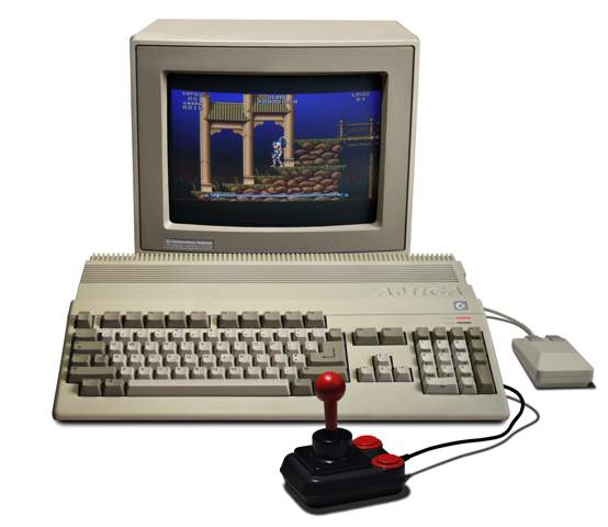 Wie wurden damals die Games auf einem Commodore Amiga programmiert?