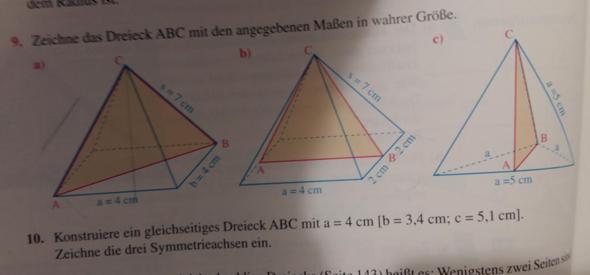Wie zeichne ich Dreieck No C?