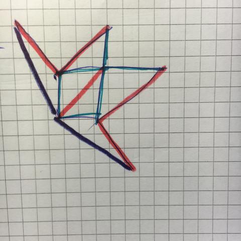 Das Netz - (Mathe, Mathematik, Geometrie)