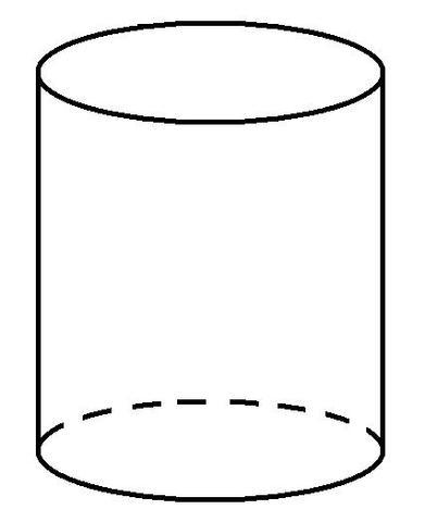 wie zeichnet man das schr gbild eines zylinders mathe mathematik zylinder. Black Bedroom Furniture Sets. Home Design Ideas