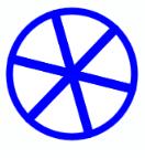Wie zeichnet man einen Rad in Python?