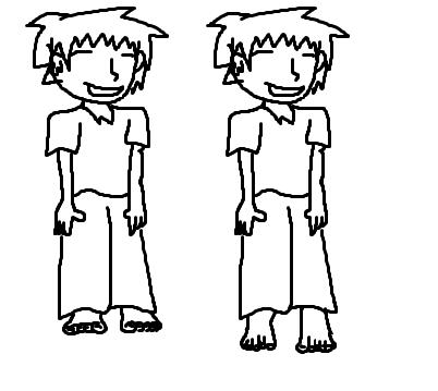 die füße an nem typen - (zeichnen, füße zeichnen)