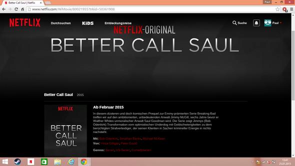 Wieso Bezeichnet Netflix Quot Better Call Saul Quot Als Ein