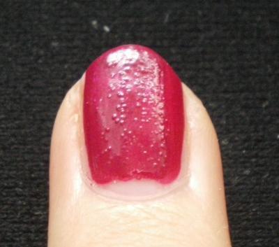 Nagellack mit Blasen  - (Frauen, Beauty, Tipps)