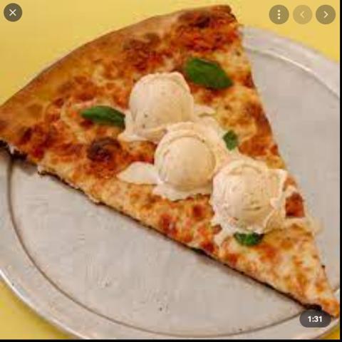 Wieso essen manche Amis Eiscreme auf Pizza?