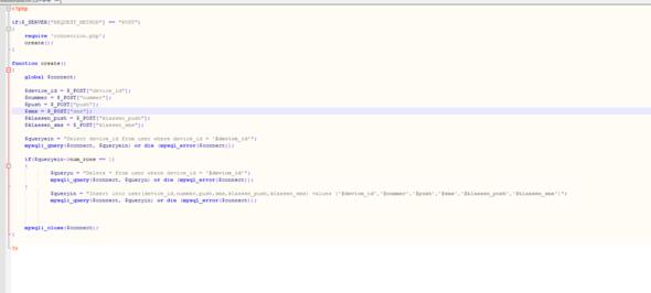 Der Code - (PHP, MySQL)