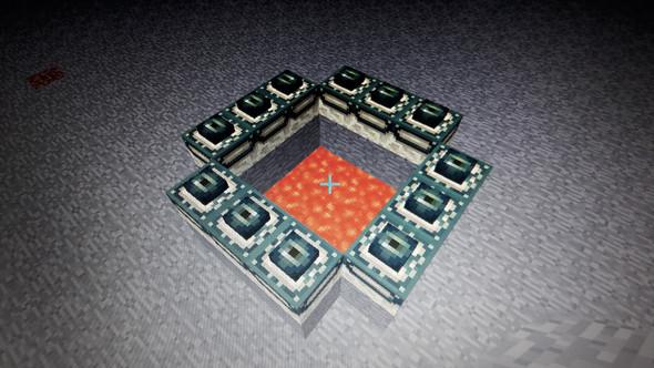 - (Minecraft, enderportal)