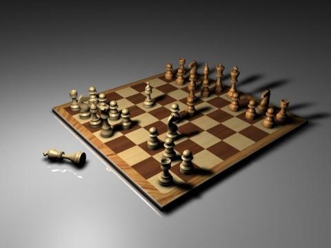 Schachspiel - (Spiele, Schach, IchBinBescheuert)