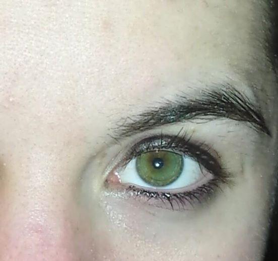 Andere Augenfarbe